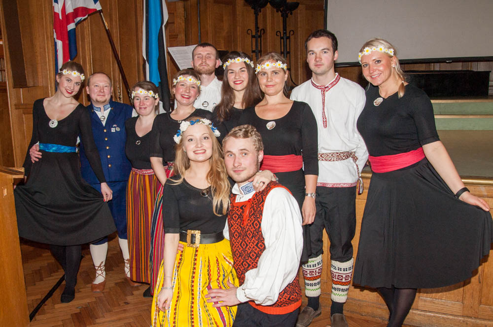 London, United Kingdom         - London Estonian Society Folk Dance